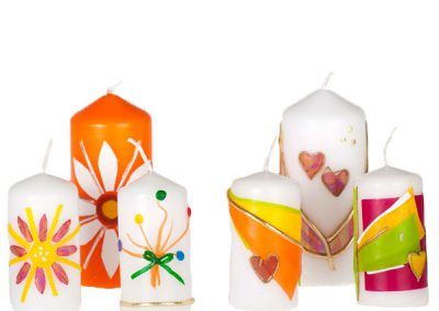 Bougies de Noël (petites)